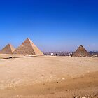 Pyramids of Giza by James Hanley