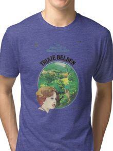 Trixie Belden Book Cover Tri-blend T-Shirt