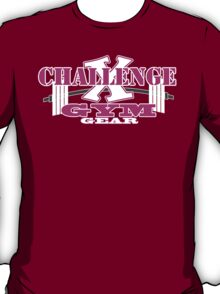 Challenge X Pink for black T T-Shirt