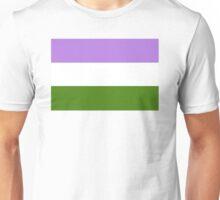 Genderqueer Pride Flag Unisex T-Shirt