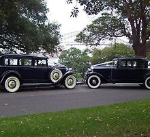 VINTAGE WEDDING LIMOUSINES - DE-LUXE 1930 and 1931 BUICKS AND 19 by fifthavenuevint