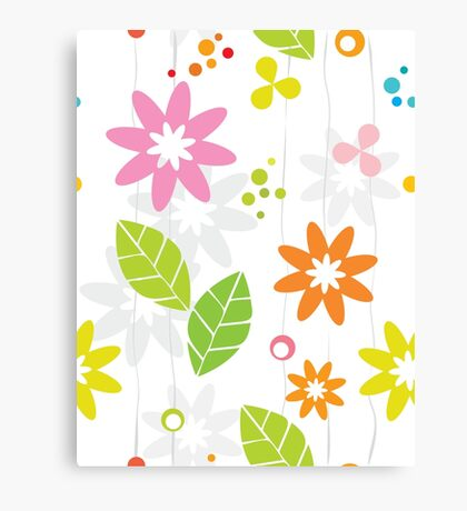 Flower Band Canvas Print