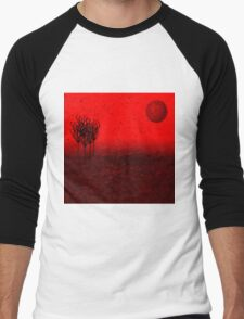 Within the red wood of nowhere Men's Baseball ¾ T-Shirt