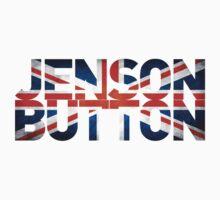 Jenson Button - British Flag Kids Tee
