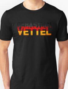 Sebastian Vettel - German Flag T-Shirt