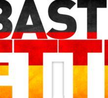 Sebastian Vettel - German Flag Sticker