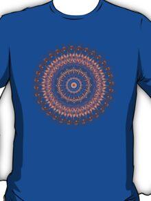 Autumn Leaves Mandala T-Shirt