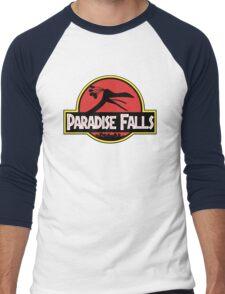 Paradise Falls Men's Baseball ¾ T-Shirt