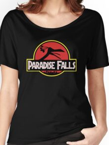 Paradise Falls Women's Relaxed Fit T-Shirt