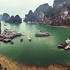 Halong Bay by urbankarma
