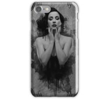 'MELTING' (bw) iPhone Case/Skin