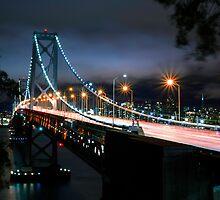 San Francisco- Oakland Bay Bridge by Jerome Obille