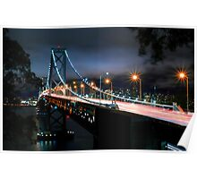 San Francisco- Oakland Bay Bridge Poster