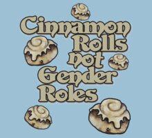 Cinnamon Rolls not gender roles Kids Tee