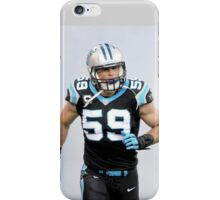 Luke kuechly iPhone Case/Skin