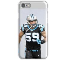 Luke kuechly iPhone Case/Skin