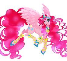 Pinkie Pie - Alicorn collection by linamomokoart