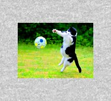 indie cat that loves football Unisex T-Shirt