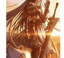 Warrior Manga girl  by PidoPido