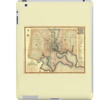 Plan of the City of Baltimore Maryland Map (1822) iPad Case/Skin