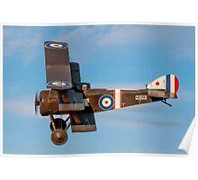 Sopwith Triplane N6290 G-BOCK Poster