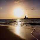 Sunset Sail by Polly Peacock