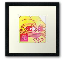 Rare Pepe Est MMXV Framed Print