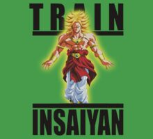 Train Insaiyan Super Saiyan Broly by BadrHoussni