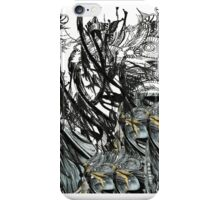 crisscross black n white  iPhone Case/Skin