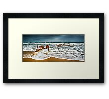 SS Dicky - Sunshine Coast Framed Print
