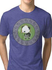 Pancham distressed look Tri-blend T-Shirt