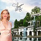 Hanging Gardens of Babylon and Sharon Stone by Dulcina
