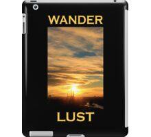 Wanderlust - Sunset in Munich iPad Case/Skin