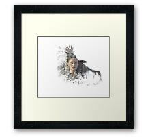 Raven - The 100 Framed Print