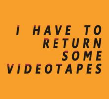 American Psycho - I Have To Return Some Videotapes by scatman