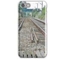 Get on track iPhone Case/Skin