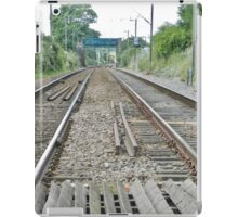 Get on track iPad Case/Skin