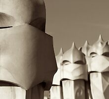 Casa Mila's Garden of Warriors by James Hanley