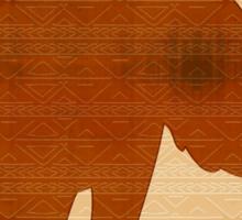 Elephant Tribal Art Design Sticker