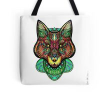 Psychedelic fox Tote Bag