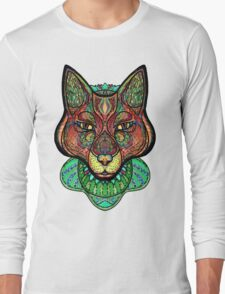 Psychedelic fox Long Sleeve T-Shirt