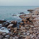 Rocky Coastline by visualspectrum