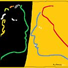 The Conversation -(180214)- Digital Artwork/MS Paint by paulramnora