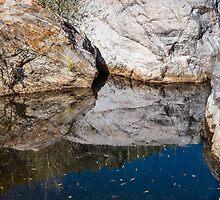 Sabino Canyon Shadows by Robert Kelch, M.D.