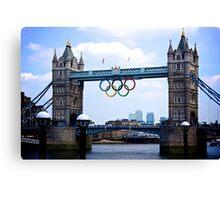 London's Games Canvas Print