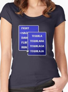 Select Magic Level for Tonight Women's Fitted Scoop T-Shirt