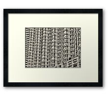Broadway Ripples Framed Print