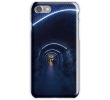 Blue Tunnel iPhone Case/Skin