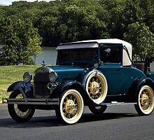 1928  Model A Ford Sport Coupe by TeeMack