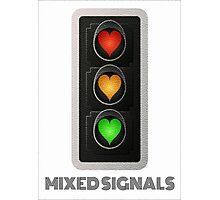 MIXED SIGNALS Photographic Print
